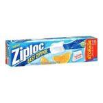 Ziploc - Ziploc Slider Storage Bag, Gallon Size-15 ct 0025700022046  / UPC 025700022046