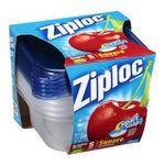 Ziploc - Ziploc Container, Small Square, 5-Count (Pack of 6) 0025700108788  / UPC 025700108788