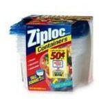 Ziploc - Ziploc Tall Square Containers 4 ea 0025700108801  / UPC 025700108801