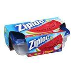 Ziploc - Ziploc Container, Large Rectangle, 2-Count(Pack of 2) 0025700108856  / UPC 025700108856