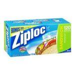 Ziploc - Ziploc Sandwich Bags (Case of 12) 0025700138952  / UPC 025700138952
