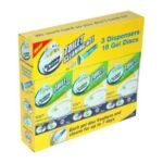 Scrubbing Bubbles - Toilet Cleaning Gel Citrus Scent 3 Dispensers & 18 Gel Discs 0025700703266  / UPC 025700703266