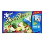 Ziploc - Ziploc Zip'N Steam Cooking Bags, Medium, 10-Count(Pack of 3) 0025700956891  / UPC 025700956891