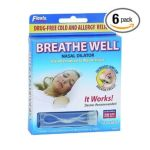 Apothecary Products, Inc. - Apothecary Products Inc. Breathe Well Nasal Dialator Alternative To Nasal Strips 0025715900704  / UPC 025715900704
