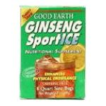 Good Earth - Energy Drink Ginseng Sport Ice 8 bags 0027018301882  / UPC 027018301882