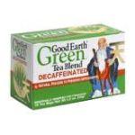 Good Earth - Decaffeinated Green Tea Lemongrass 18 Tea Bags 18 tea bags 0027018302575  / UPC 027018302575