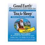 Good Earth - Tea For Sleep 15 tea bags 0027018302919  / UPC 027018302919