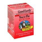 Good Earth - Tea For Flu Cough Suppressant With Echinacea & Green Tea 0027018302957  / UPC 027018302957