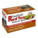 Good Earth - Caffeine Free Red Sweet & Spicy Tea 0027018304036  / UPC 027018304036