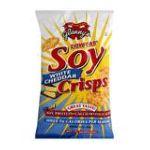 Glenny's -  Soy Crisps White Cheddar 0027393009717