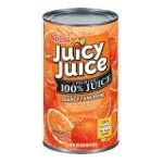 Juicy Juice - 100% Juice Orange Tangerine 0028000203504  / UPC 028000203504