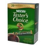 Nescafé - Taster's Choice Instant Coffee Decaf House Blend 20 Packets 0028000254797  / UPC 028000254797