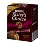 Nescafé - 100% Colombian Instant Coffee 20 Packets 0028000255664  / UPC 028000255664