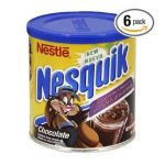 Nesquik - Chocolate W Vitamin Complex Flavored Milk Mix 0028000361204  / UPC 028000361204