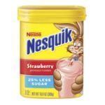 Nesquik - Drink Powder Strawberry 0028000680404  / UPC 028000680404