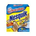 Nesquik - Ice Cream Pops Icescreamers 8 ct 0028000854560  / UPC 028000854560