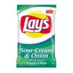 Lay's - Potato Chips Sour Cream & Onion 0028400028455  / UPC 028400028455