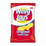Lay's - Potato Chips Wavy Regular 0028400028509  / UPC 028400028509