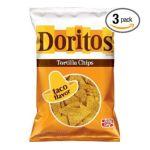Doritos - Tortilla Chips Taco Flavor Bag 0028400032209  / UPC 028400032209