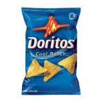 Doritos - Cool Ranch Flavored Tortilla Chips 0028400038546  / UPC 028400038546