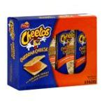 Cheetos - Sandwich Crackers Cheddar Cheese 0028400046343  / UPC 028400046343