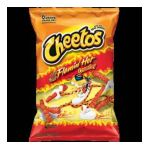 Cheetos - Cheese Flavored Snacks Crunchy Flamin' Hot 0028400048880  / UPC 028400048880