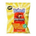Doritos -  Naturally Baked Tortilla Chips Nacho Cheese Pre-priced 0028400048996