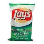 Lay's - Potato Chips Sour Cream & Onion 0028400054225  / UPC 028400054225