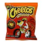 Cheetos - Cheese Flavored Snacks 0028400055345  / UPC 028400055345