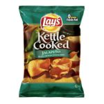 Lay's - Potato Chips Kettle Cooked Jalapeno Extra Crunchy 0028400057394  / UPC 028400057394