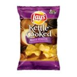 Lay's - Kettle Cooked Maui Onion Potato Chips 0028400057417  / UPC 028400057417