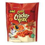 Cheetos - Cracker Trax Spicy Cheddar Baked Snack Crackers 0028400066778  / UPC 028400066778