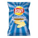 Lay's - Potato Chips Pinch Of Salt 0028400069465  / UPC 028400069465