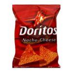 Doritos - Tortilla Chips Nacho Cheese Large Single Serve Bags 0028400070560  / UPC 028400070560