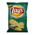 Lay's - Potato Chips Sour Cream & Onion 0028400078610  / UPC 028400078610