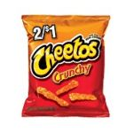 Cheetos - Cheese Flavored Snack Crunchy 0028400087650  / UPC 028400087650