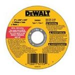 Dewalt -  Dewalt - Type 1 Metal Thin Cut-Off Wheels 4 X .045 X 5/8 Metal Thin Cut-Off Wheel - Type 1: 115-Dw8061 0028877321592