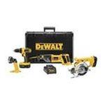 Dewalt -  Dewalt 4-Piece 18V Tool Combo Kit 0028877599823