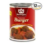 Worthington & Loma Linda -  Vegetarian Burger Low Fat Cans 0028989222237