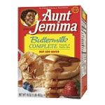 Quaker - Buttermilk Complete Pancake & Waffle Mix 0030000053508  / UPC 030000053508