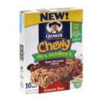 Quaker - Granola Bars Chewy Dark Chocolate Cherry 0030000055410  / UPC 030000055410