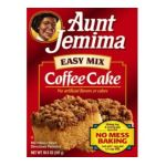 Quaker - Coffee Cake Ez Mix Boxes 0030000057407  / UPC 030000057407