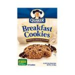 Quaker - Breakfast Cookies Oatmeal Chocolate Chip 0030000057667  / UPC 030000057667