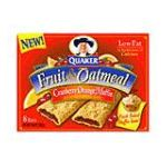 Quaker - Fruit & Oatmeal Bars Cranberry Orange Muffin 0030000067062  / UPC 030000067062