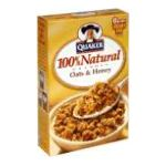 Quaker - Granola 100% Natural & Honey 0030000067604  / UPC 030000067604