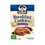 Quaker - Breakfast Cookies Oatmeal Raisin 0030000075630  / UPC 030000075630