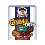 Quaker - Chewy Granola Bars Dipps Peanut Butter 0030000094402  / UPC 030000094402
