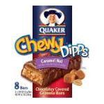 Quaker - Granola Bars Chewy Dipps Caramel Nut 0030000095072  / UPC 030000095072