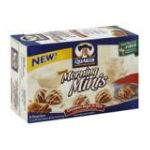 Quaker - Cookies Chewy Morning Minis Cinnamon Sugar & Oat 6 ea 0030000096031  / UPC 030000096031