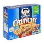 Quaker - Crunchy Granola Snack Bars 0030000096710  / UPC 030000096710